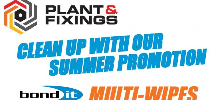 Bond It Hand Wipes Summer Promotion